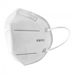Apsauginės veido kaukės - respiratoriai, standartas FFP2  1vnt