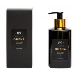 Drėkinamais kūno pienelis su migdolų aliejumu Aromatic 89 OHENA Body milk 300ml