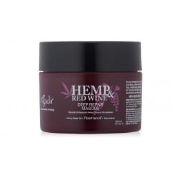 Atstatomoji plaukų kaukė, sausiems, pažeistiems plaukams Agadir Hemp and Wine Deep Repair Hair Masque 236,6ml