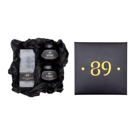 Parfumuotų produktų rinkinys kasdienei kūno priežiūrai ir puoselėjimui Aromatic 89 OHENA SET