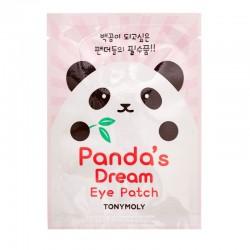 Drėkinantys paakių padeliai Tonymoly Panda's Dream Eye Patch 1 pora