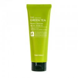 Veido putos su žaliąja arbata TONYMOLY The Chok Chok Green Tea Foam150ml