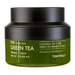 Veido kremas su žaliąja arbata TONYMOLY The Chok Chok Green Tea Watery Cream