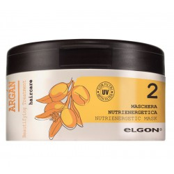 Kaukė su argano aliejumi sausiems ir nualintiems plaukams ELGON ARGAN Nutrienergetic Mask 250ml