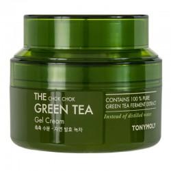 Veido kremas su žaliąja arbata TONYMOLY The Chok Chok Green Tea Gel  Cream 60ml