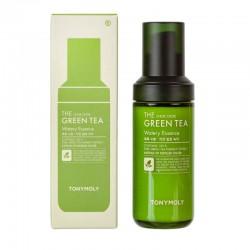 Veido esencija su žaliąja arbata TONYMOLY The Chok Chok Green Tea Watery Essence 55ml