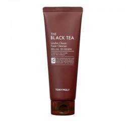 Valomosios veido putos su juodąja arbata TONYMOLY The Black Tea London classic foam Cleanser 150ml
