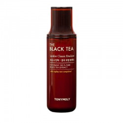 Veido emulsija su juodąja arbata TONYMOLY The Black Tea London classic emulsion 160ml