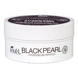 Paakių pagalvėlės su juodųjų perlų ekstraktu Ekel Black Pearl Eye Patch 90g. / 60vnt.