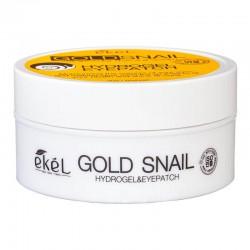 Paakių pagalvėlės su auksu ir sraigių serumo ekstraktu Ekel Gold Snail Eye Patch  90g./60vnt.