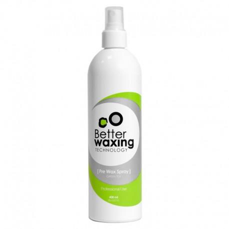 Antiseptinis purškiklis prieš depiliaciją su žaliąja arbata Better Waxing Technology 400ml