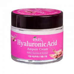 Veido kremas su hialurono rūgštimi Ekel Ampule Cream Hyaluronic Acid 70ml