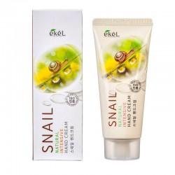 Rankų kremas su sraigių mucinu Ekel Natural Intensive Hand Cream Snail 100 ml.