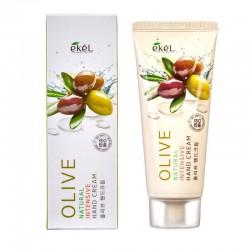 Rankų kremas su alyvuogėmis Ekel Natural Intensive Hand Cream Olive 100ml
