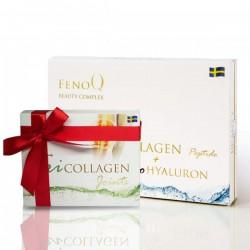 Geriamas grožio derinys Beauty Complex + FenoQ Rankų Serumas + DOVANA TriCOLLAGEN Joints