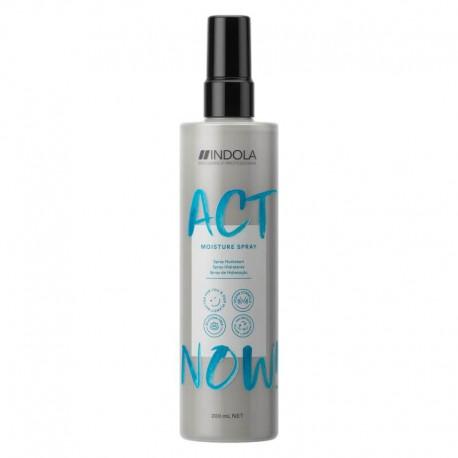 Plaukus drėkinantis dvifazis purškilis Indola ActNow Moisture Spray 200ml