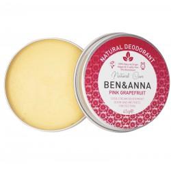 Dezodorantas-kremas Ben&Anna Deocreme – Pink Grapefruit 45g