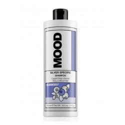 Šampūnas pilkintojas, neutralizuojantis arba šalinantis gelsvą atspalvį Mood Silver Specific Shampoo 400ml