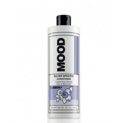 Plaukų kondicionierius pilkintojas, neutralizuojantis arba šalinantis gelsvą atspalvį Mood Silver Specific Conditioner 400ml