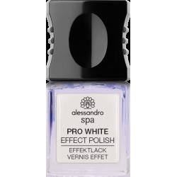Nagų lakas suteikiantis švytėjimą Alessandro Pro White Nail Effect Original