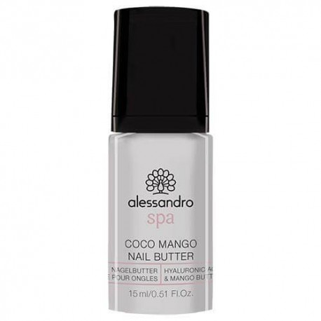 Maitinamasis nagų ir odelių sviestas mangų kvapo Alessandro Coco Mango Nail Butter
