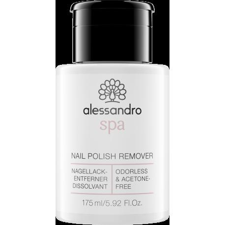 Nagų lako nuėmėjas be acetono Alessandro Nail polish remover 175ml