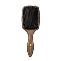 Plaukus glotninantis šepetys su natūraliais šerno šereliais HH Simonsen Smooth Brush