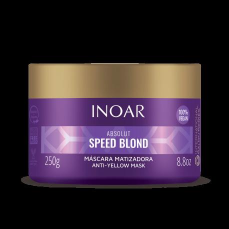 Plaukų kaukė šviesiems plaukams INOAR Speed Blond Mask 250g