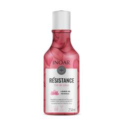 Nenuplaunamas kondicionierius INOAR Resistance Flor de Lotus Leave-in Antifrizz 250ml