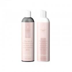 Plaukų priežiūros rinkinys pažeistiems plaukams MOTHER + dovana Jūros druskos purškiklis plaukams