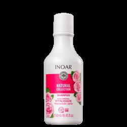 Šampūnas su rožių ekstraktu INOAR Rosa Imperial Shampoo 250 ml