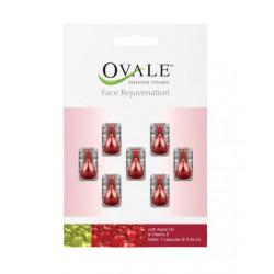 Tepamieji vitaminai veidui su obuolių aliejumi ir vitaminu E Ovale Face Rejuvenation