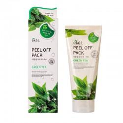 Drėkinanti nulupama veido kaukė su žaliąja arbata Ekel Peel Off Pack Green Tea 180ml