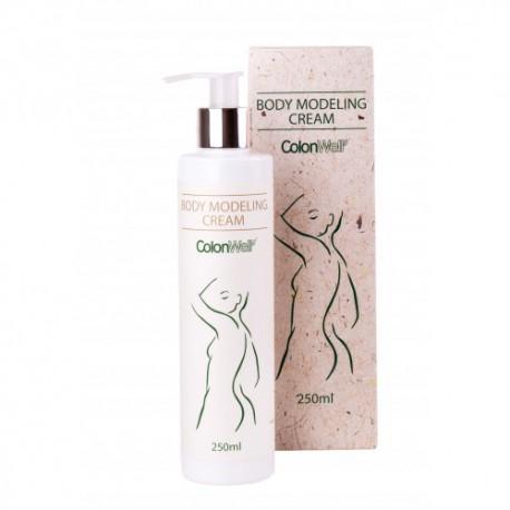 Anticeliulitinis ir stangrinamasis kremas ColonWell Body Modeling Cream 250ml