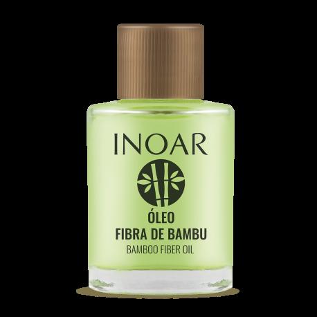 Stiprinantis ir blizgesio suteikiantis aliejus plaukams INOAR Resistance Fibra de Bambu Oil 7ml