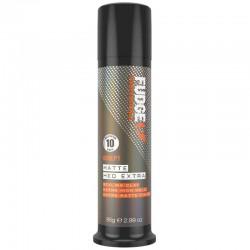 Itin stiprios fiksacijos matinį efektą suteikianti plaukų pasta Fudge Professional Matte Hed Extra Styling Clay 85g