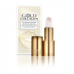 Lūpų balzamas  GOLD COLLAGEN LIPSTICK 4g