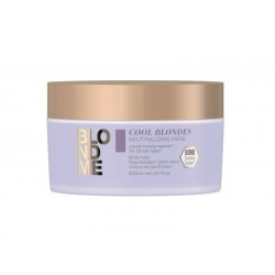 Geltonus atspalvius neutralizuojanti kaukė Schwarzkopf BlondMe Cool Blondes Neutralizing Mask 200ml