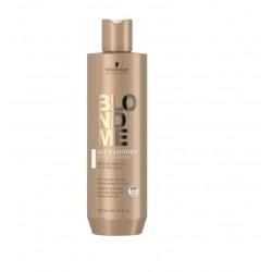Detoksikuojantis šampūnas Schwarzkopf BlondMe All Blondes Detox Shampoo 300ml