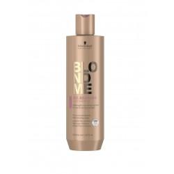 Šampūnas ploniems ir normaliems šviesintiems plaukams Schwarzkopf BlondMe All Blondes Light Shampoo 300ml