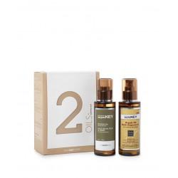 Plaukų ir kūno priežiūros priemonių rinkinys Saryna KEY Body & Hair Oil Set