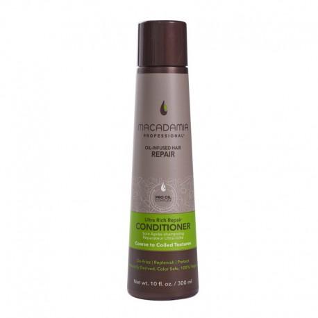 Ypač drėkinantis kondicionierius sausiems, pažeistiems plaukams Macadamia