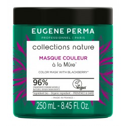 Maitinanti kaukė dažytiems, trapiems plaukams  Eugene Perma Collection Nature Blackberry Mask 250ml
