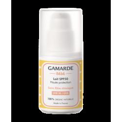 Gamarde Bebe Lait SPF50 Haute Protection - Natūralus apsauginis kremas nuo saulės kūdikiams (SPF 50) 40ml