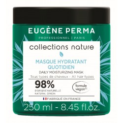 Neapsunkinanti, drėkinanti plaukų kaukė Eugene Perma Collection Nature Quotidien Daily Moisturizing Mask 250ml