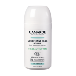 Natūralus rutulinis dezodorantas su žaliąją arbatą Gamarde Green Tea Soothing Deodorant 50ml