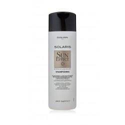 Šviesių natūralių plaukų švelnus šviesinimasis šampūnas Eugene Perma Solaris Sun Effect Lightening Shampoo 250ml