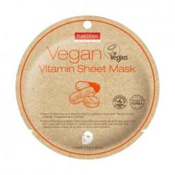 Veganiška lakštinė kaukė su vitaminaisPurederm Vegan Vitamin Sheet Mask 23g