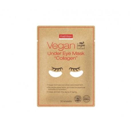 Veganiška paakių kaukė Purederm Vegan Under Eye Collagen Mask  30vnt