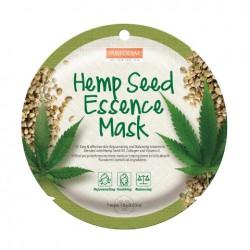 Veido kaukė su kanapių sėklų esencija Purederm Hemp Seed Essence Mask  18g
